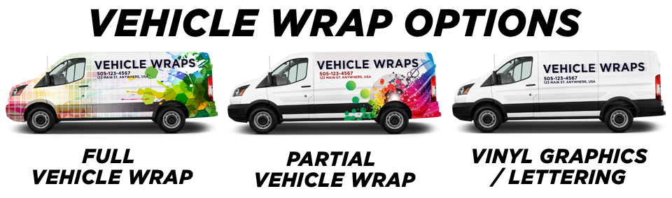 Murphy Vehicle Wraps vehicle wrap options